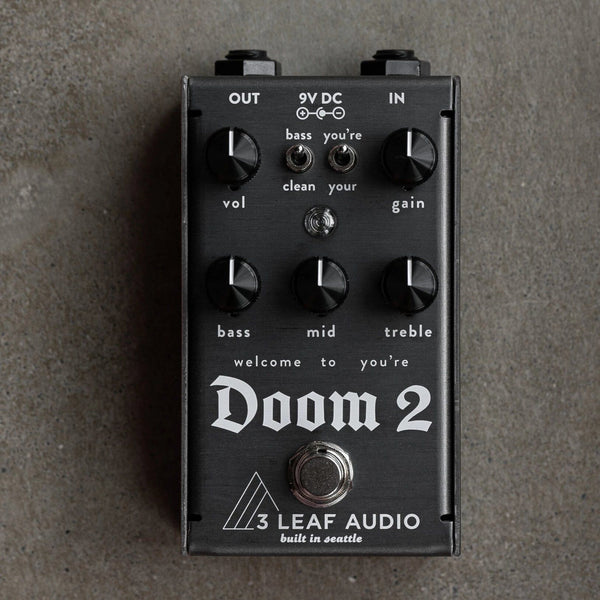 3 Leaf Audio Doom 2 Harmonic Fuzz