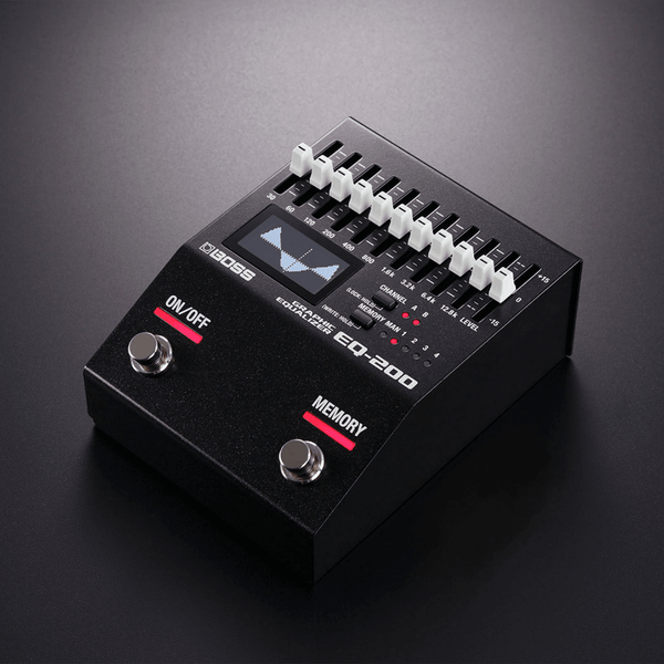 Boss EQ-200 Graphic Equalizer Pre-Order