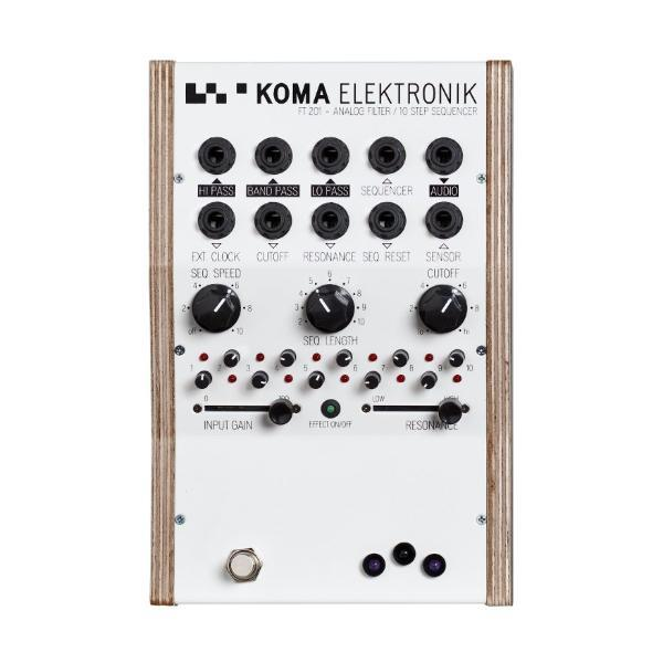 KOMA Elektronik FT201 - ANALOG FILTER / 10 STEP SEQUENCER