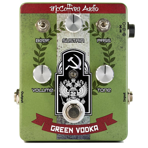 McCaffrey Audio Green Vodka Muff