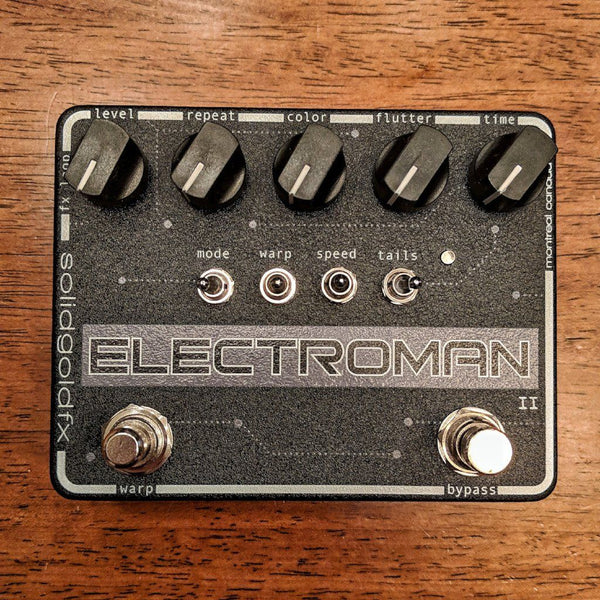 SolidGoldFX Electroman MKII Modulated Delay BLACKOUT Limited Edition
