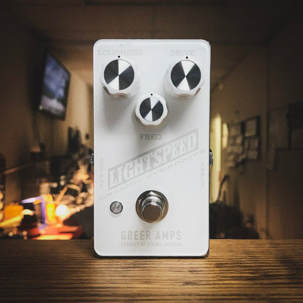 Greer Amps Lightspeed Snow Blind Organic Overdrive