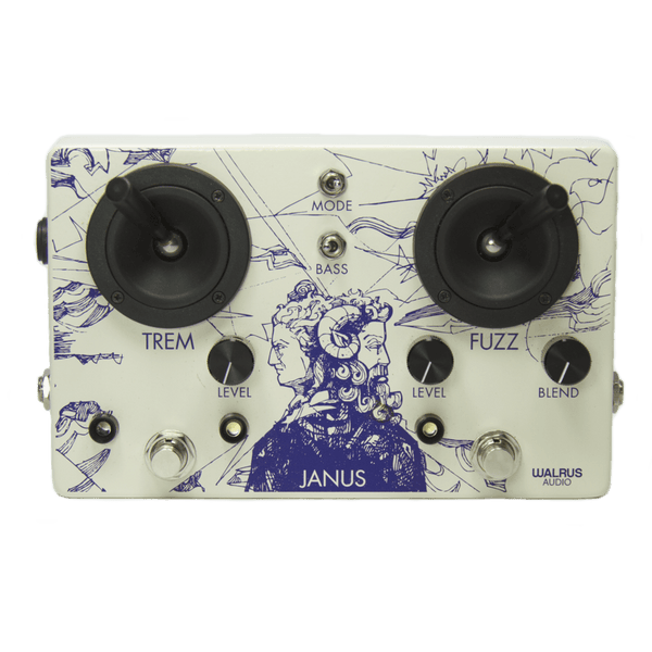 Walrus Audio Janus Fuzz/Tremolo with Joystick Control