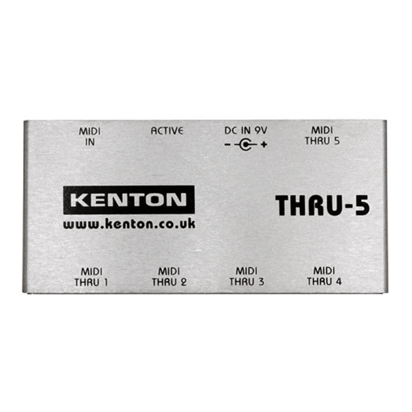 Kenton Thru-5 MIDI Splitter