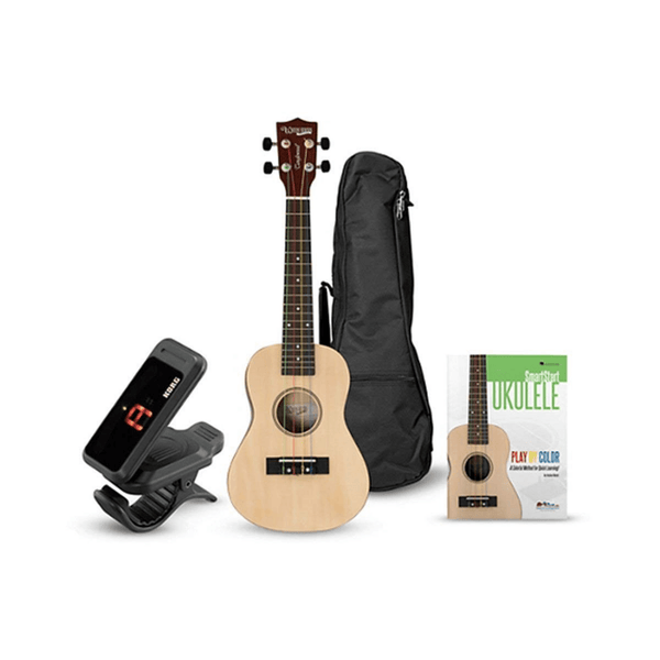 Tanglewood TU101NAK Ukulele Learn to Play Bundle Natural