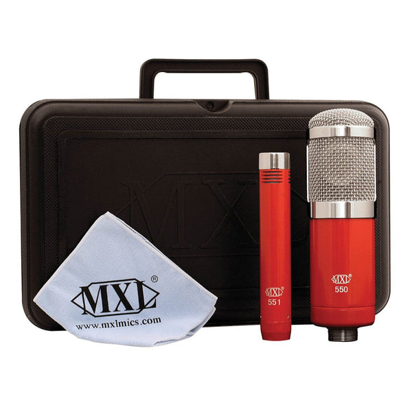 MXL 550/551R Recording Mic Kit