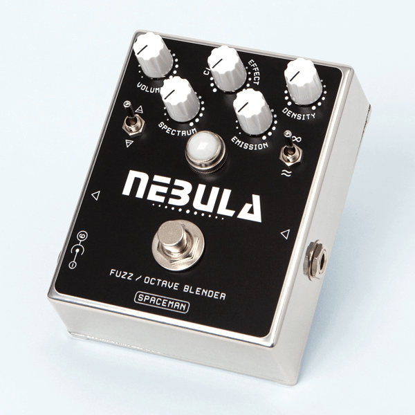 Spaceman Nebula: Fuzz / Octave Blender (Gloss Steel Edition)