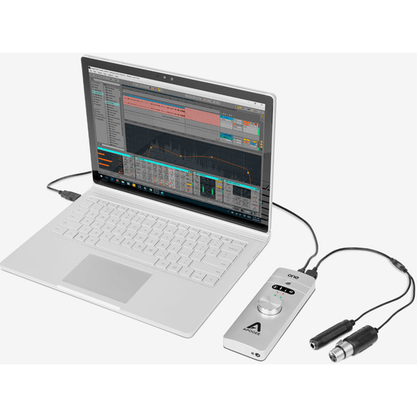 Apogee ONE 2 IN x 2 OUT USB Audio Interface/Microphone for Mac and PC