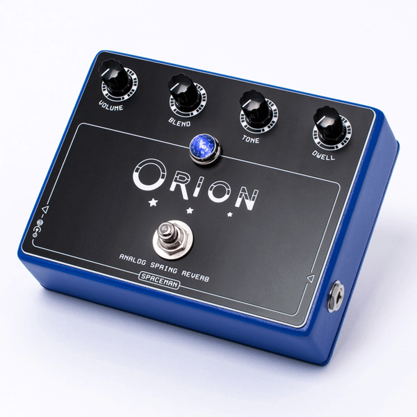 Spaceman Orion Analog Spring Reverb / Blue Edition