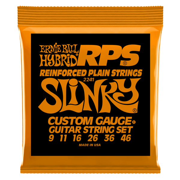 Ernie Ball Hybrid Slinky RPS Nickel Wound Electric Guitar Strings - 9-46 Gauge