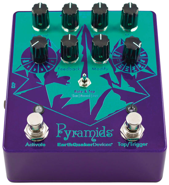 Rent Earthquaker Devices Pyramids Stereo Flanging  Device