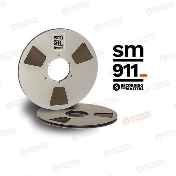"Recording The Masters  - RTM / SM911 1/4"" Audio Tape"