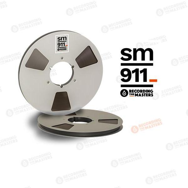 "Recording The Masters  - RTM / SM911 1/2"" Audio Tape"