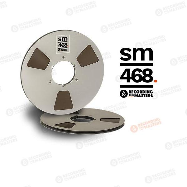 "Recording The Masters  - RTM / SM468 1/4"" Audio Tape"
