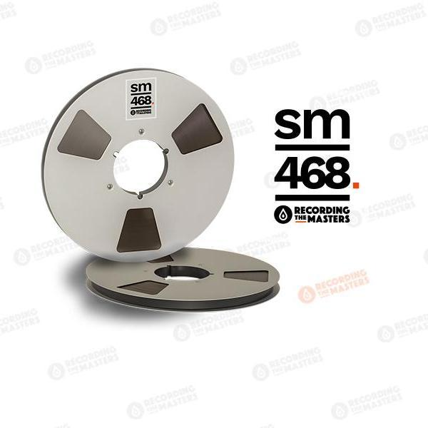 "Recording The Masters  - RTM / SM468 1/2"" Audio Tape"
