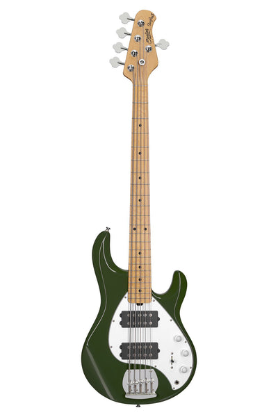 Sterling by Music Man StingRay5 HH, Olive, 5-String