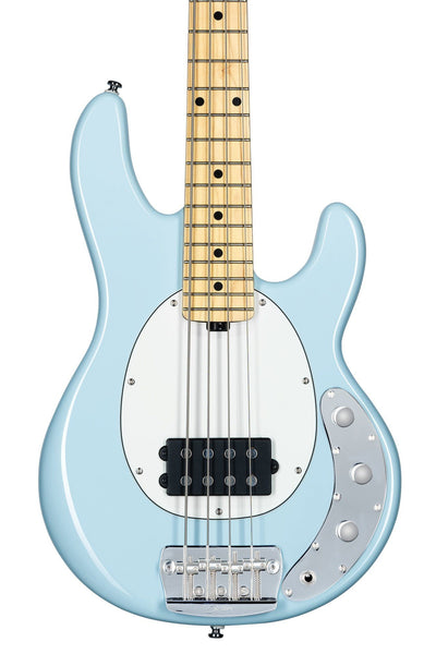 Sterling by Music Man Short Scale StingRay, Daphne Blue