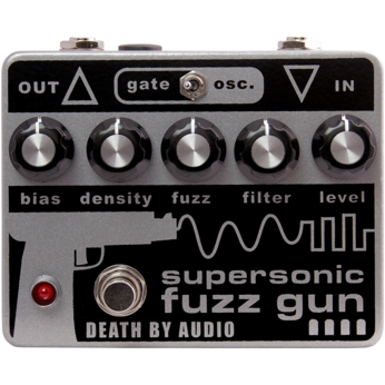 Rent Death By Audio Supersonic Fuzz Gun
