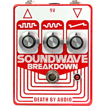 Rent Death By Audio Soundwave Breakdown