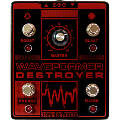 Rent Death By Audio Waveformer Destroyer