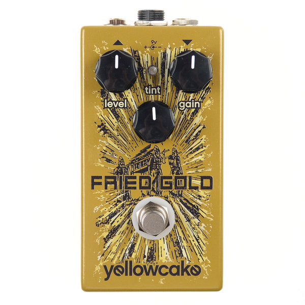Yellowcake - Yellowcake Fried Gold Overdrive Pedal - The Sound Parcel