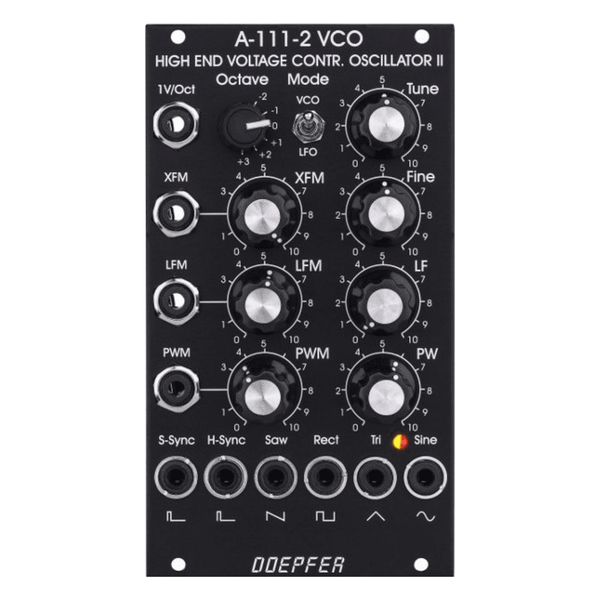 Doepfer A-111-2v High End VCO II / LFO (Vintage Edition)