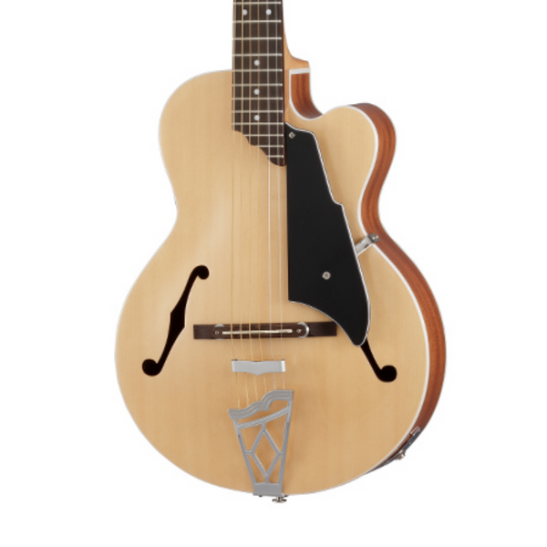 VOX Giulietta VGA-3PS Archtop Acoustic-Electric with Piezo Bridge Pickup, Natural