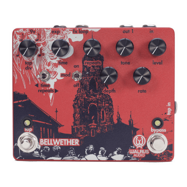 Rent Walrus Audio Bellwether Analog Delay with Tap Tempo