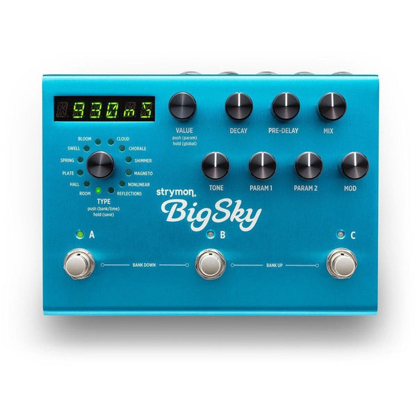 Rent Strymon Big Sky Reverberator