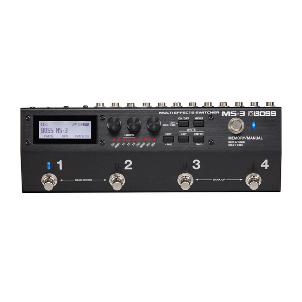 Rent Boss MS-3 Multi Effects Switcher