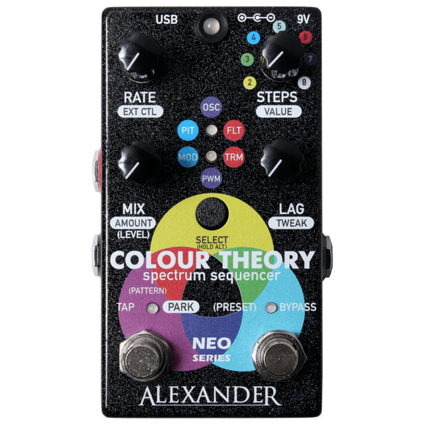 Alexander Colour Theory Step Sequencer