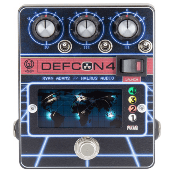 Walrus Audio Defcon4 Preamp/EQ/Boost - Ryan Adams Artist Signature Pedal