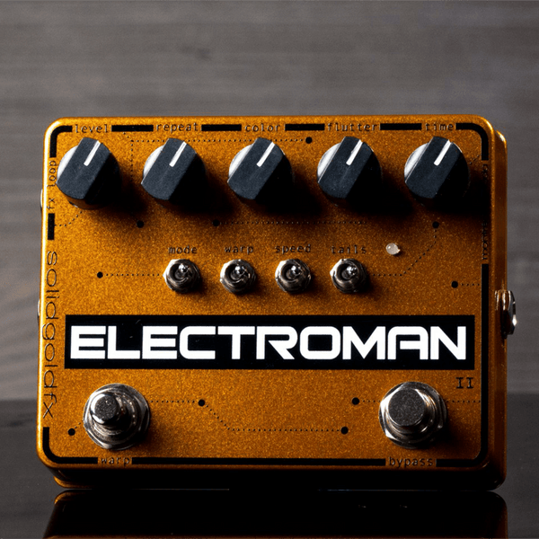 Rent SolidGoldFX Electroman MKII Modulated Delay