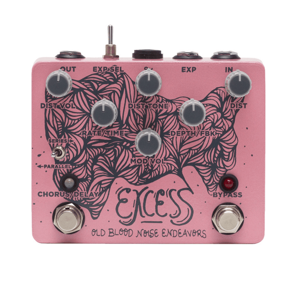 Rent Old Blood Noise Excess Distortion Chorus/Delay