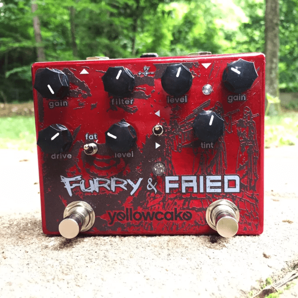 Yellowcake Pedals Furry and Fried