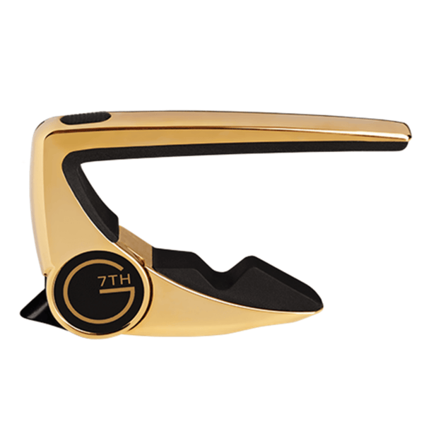 G7th Performance 2 Capo for Classical Guitar (Gold)