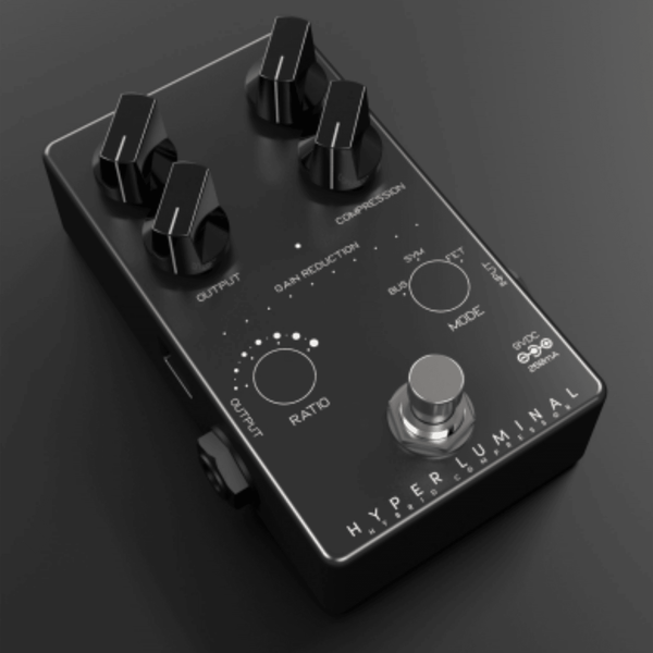 Darkglass Electronics Hyper Luminal Hybrid Compressor - LIMITED EDITION BLACK