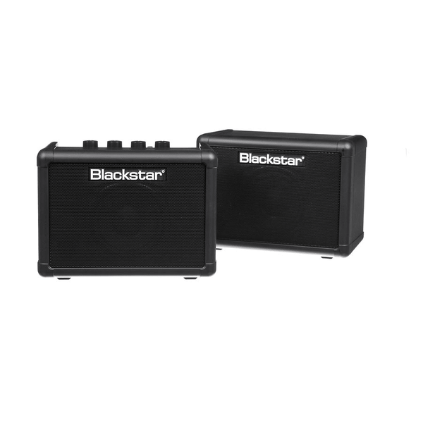 Blackstar FLY Stereo Pack - Battery-Powered Mini Guitar Amp, Extension Cabinet & Power Supply (Black)