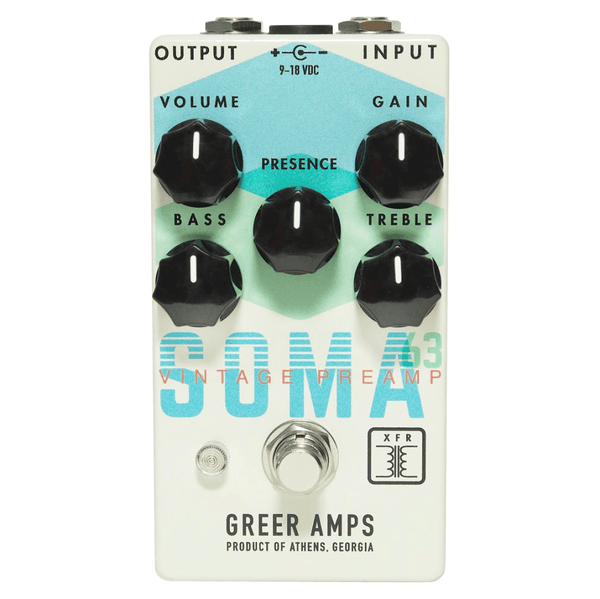 Greer Amps Soma '63 In-Stock