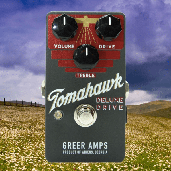 Greer Amps Tomahawk Deluxe Drive [ Matte Slate Limited Edition ]