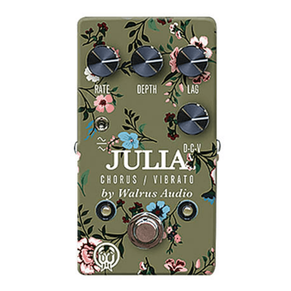 Walrus Audio Julia Analog Chorus/Vibrato - Floral Edition