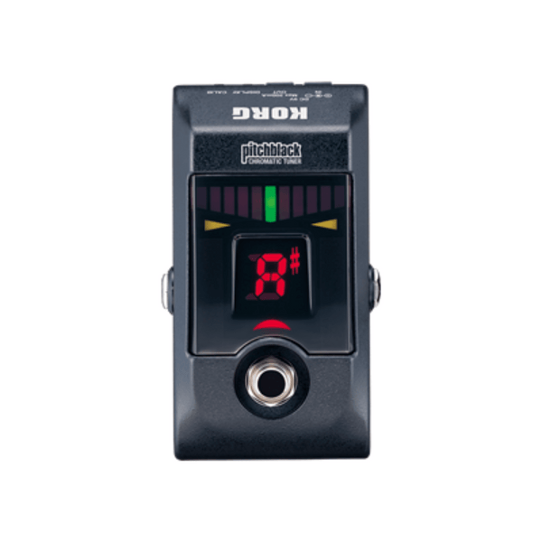 Korg Pitchblack Chromatic Pedal Tuner Metallic Black