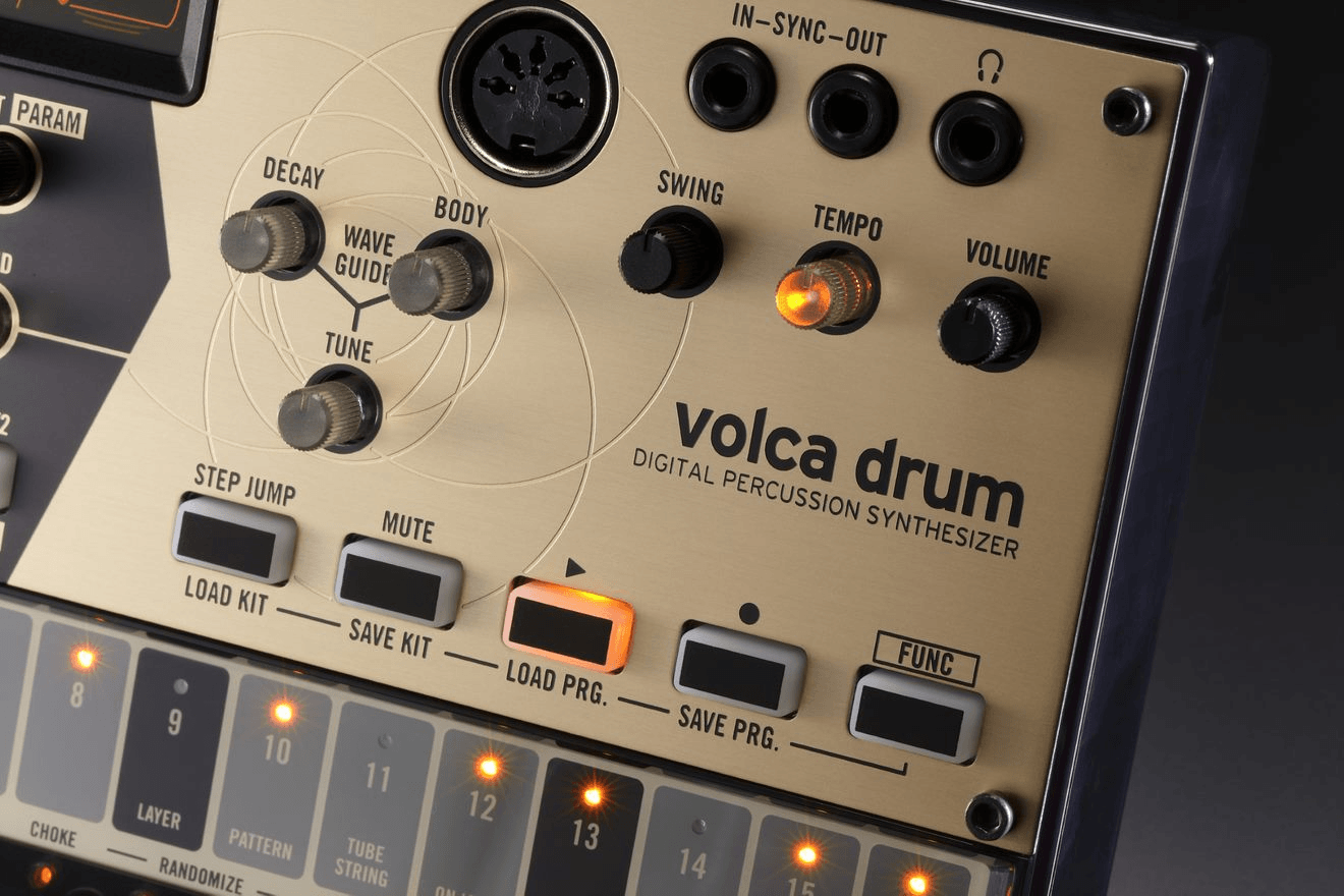 Korg Volca Drum Physical Modeling Drum Synthesizer - The Sound Parcel