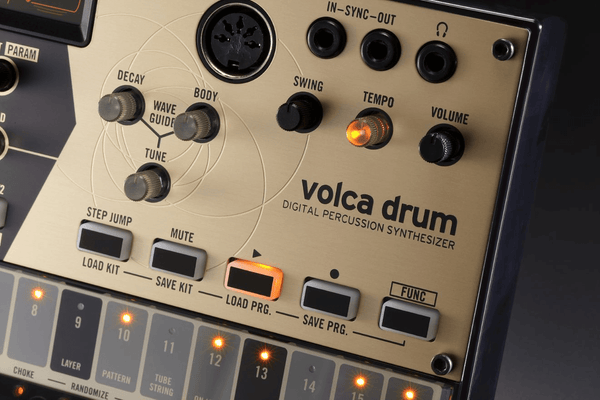 Korg Volca Drum Physical Modeling Drum Synthesizer
