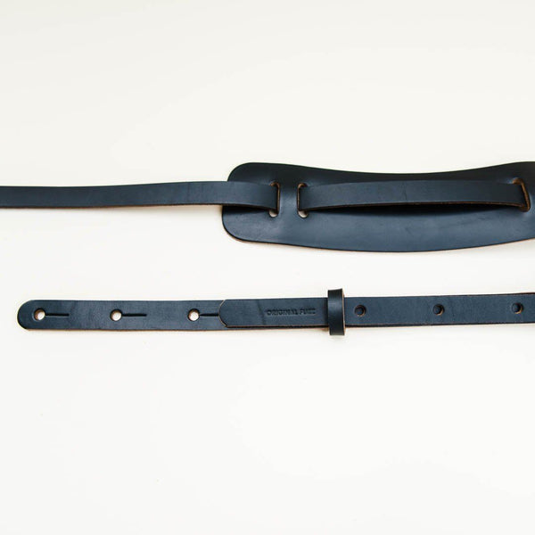 Original Fuzz Classic Leather Guitar Strap in BLACK