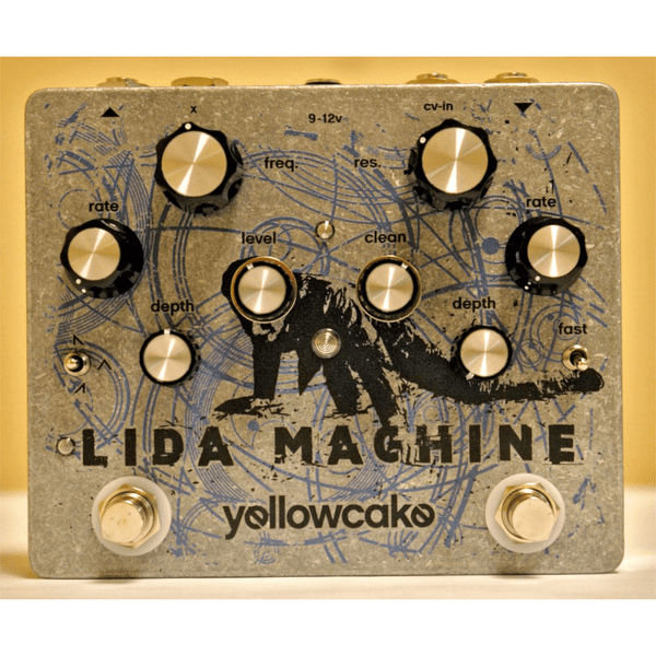 Rent Yellowcake Pedals Lida Machine Analog Resonant Filter