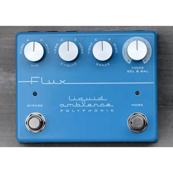 Rent Flux Effects Liquid Ambience Atmospheric Reverb with polyphonic Voicing
