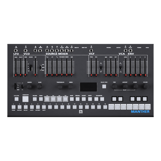 Malekko Manther Tabletop Monosynth