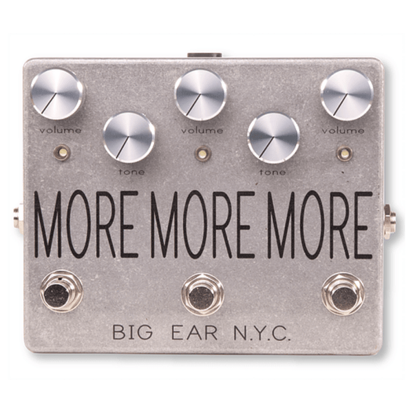 BIG EAR pedals MORE MORE MORE