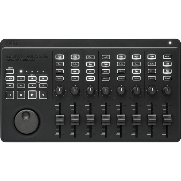 korg nanokontrol studio mobile midi controller the sound parcel. Black Bedroom Furniture Sets. Home Design Ideas
